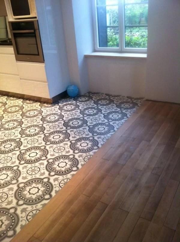 50 ideas para decorar con baldosas hidr ulicas - Baldosas suelo cocina ...