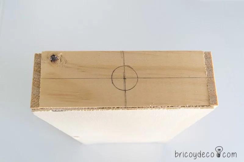 perforar una caja de madera