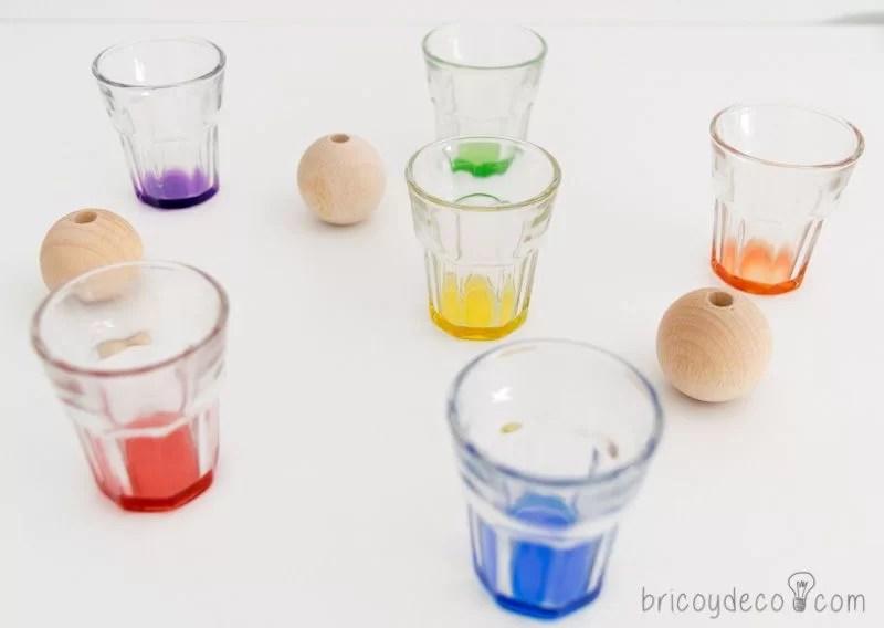 reciclar con spray vasos de licor
