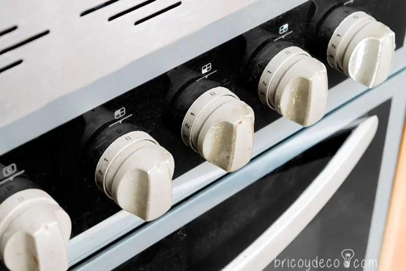 mandos horno y vitrocerámica estropeados