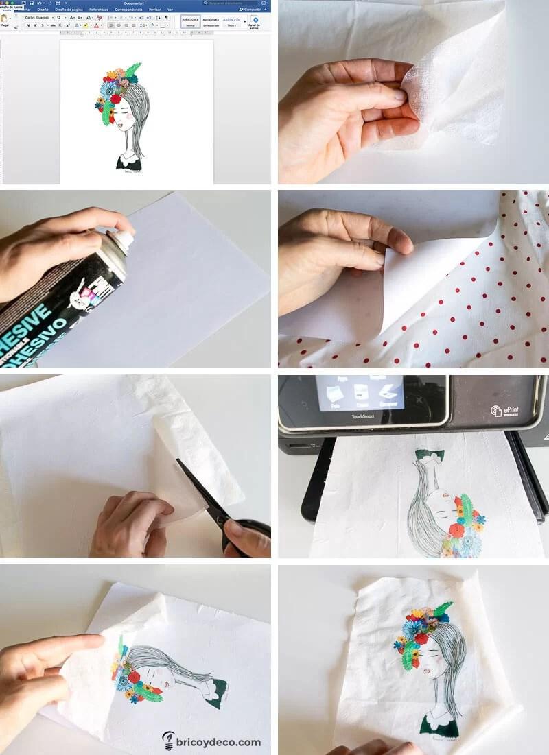 truco para hacer tus propias servilletas para decoupage paso a paso