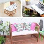 muebles DIY para terraza o jardín