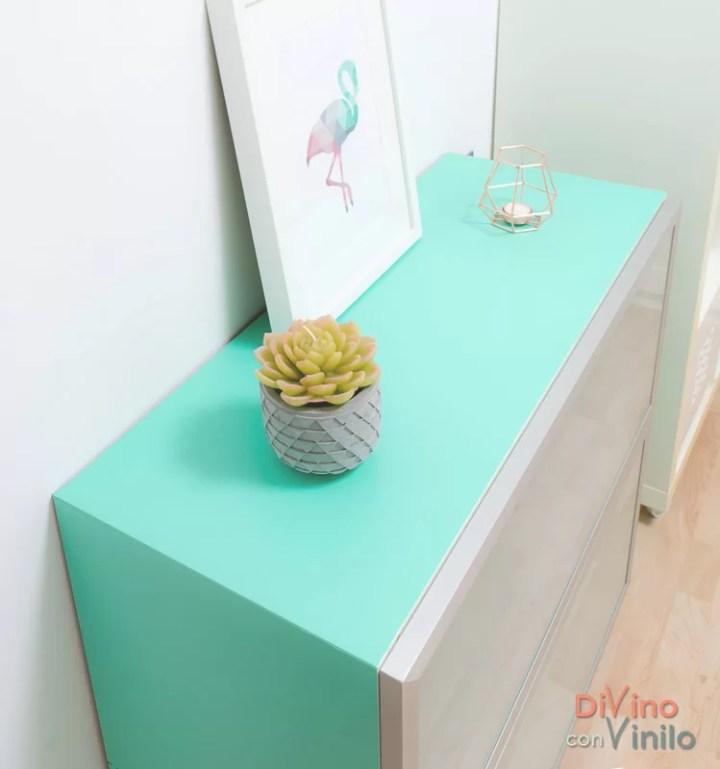 forrar muebles con vinilo adhesivo
