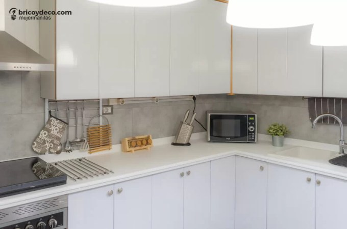 renovar el revestimiento de la cocina sin obras
