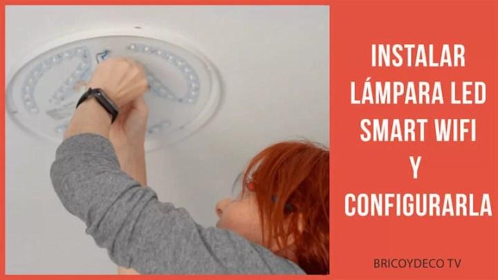 cómo instalar una lámpara LED