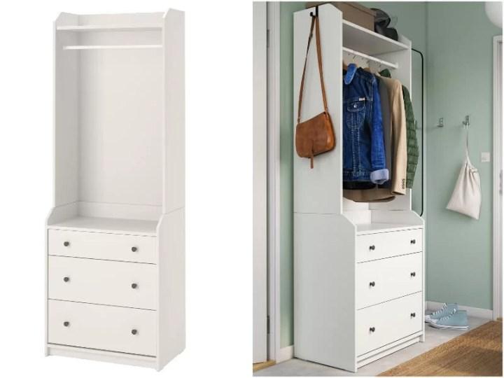 armario abierto Ikea