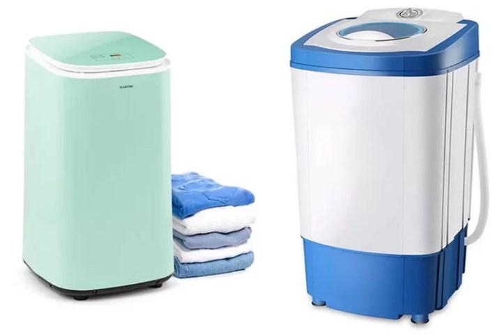 secadoras de carga frontal de condensación o evaporación