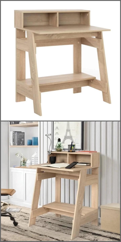 escritorio de estilo industrial
