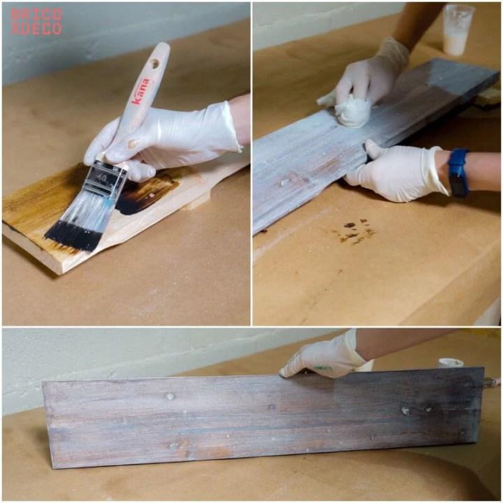 cómo blanquear la madera
