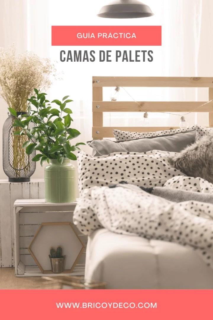 guía sobre cama de palets