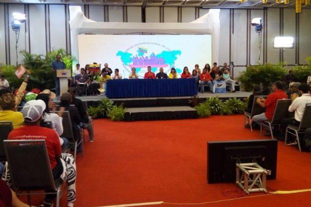 Declaración final del I Congreso Internacional de Comunas, Movimientos Sociales y Poder Popular