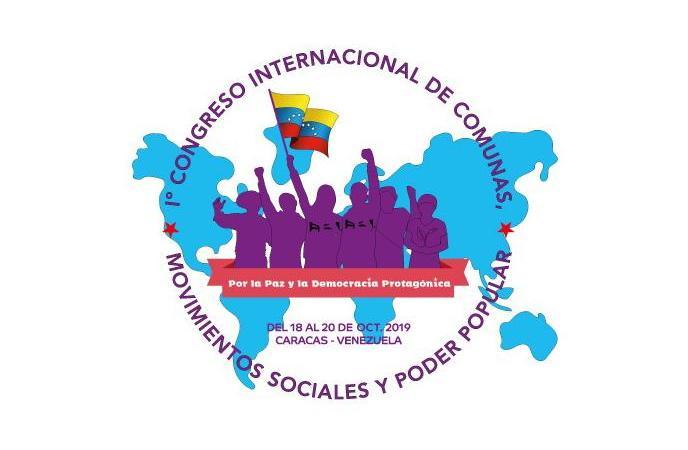 En marcha el 1º Congreso Internacional de Comunas, Movimientos Sociales y Poder Popular