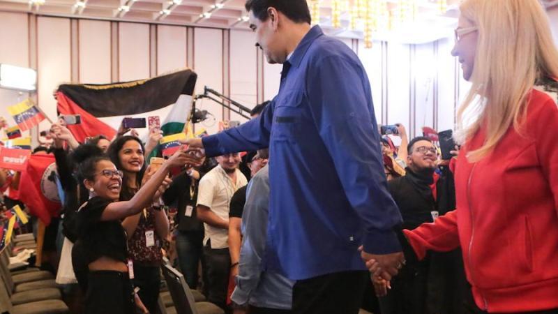 Nicolás Maduro clausuró el Congreso Internacional de Jóvenes y Estudiantes por la paz