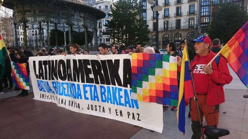 El canciller Jorge Arreaza saludó la solidaridad vasca con Latinoamérica