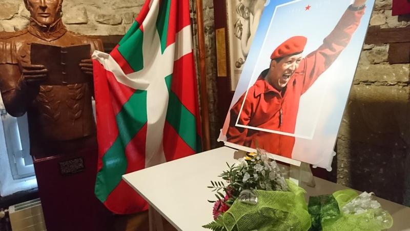 Homenaje a Hugo Chávez en Euskal Herria [+VÍDEO]