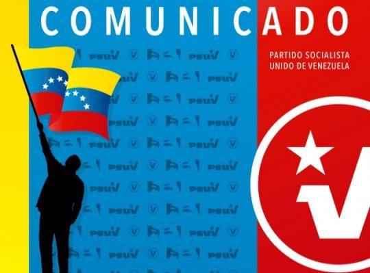 PSUV rechaza categóricamente la presencia de nuevas tropas de EE.UU en Colombia