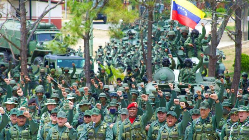 La Fuerza Armada Nacional Bolivariana se declara en rebeldía contra el imperialismo