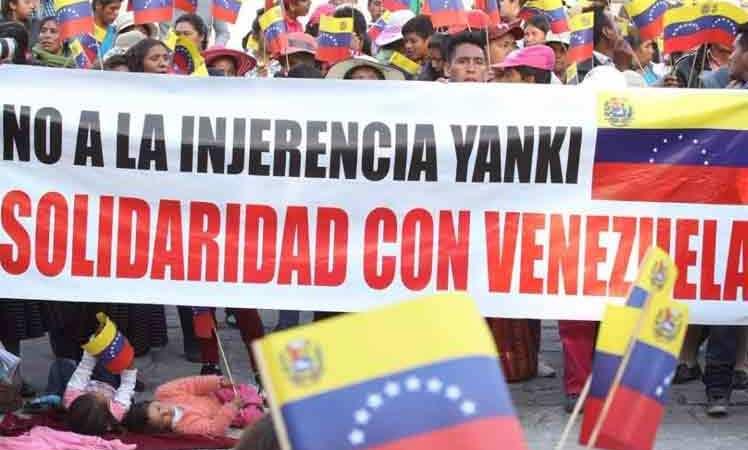 Organizaciones de todo el mundo muestran su Solidaridad con la Revolución Bolivariana