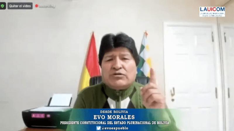 """Evo Morales Ayma: """"Los medios independientes en tiempos de injusticia siempre están del lado de los conservadores"""""""