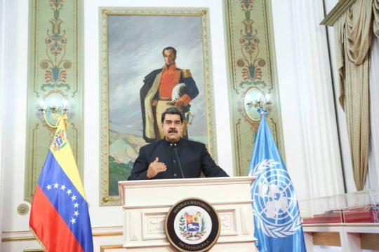 [VÍDEO] Intervención del Presidente Nicolás Maduro en la 75 Asamblea General de la ONU