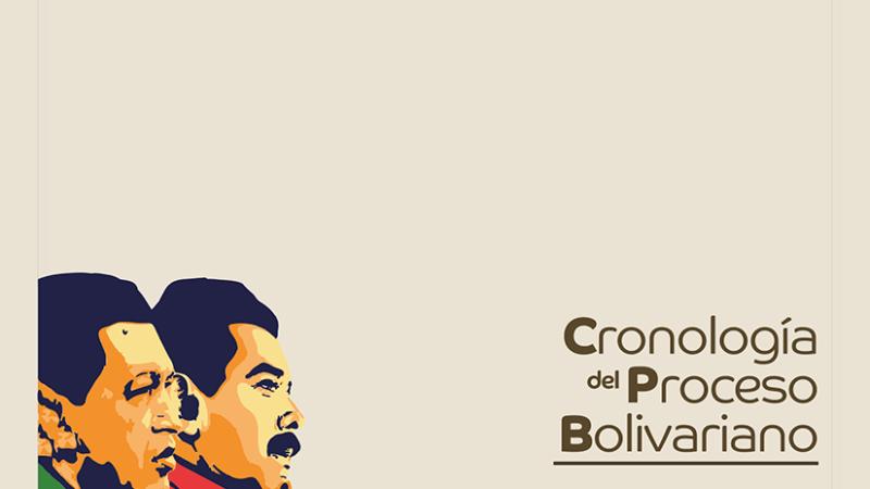 Cronología del Proceso Bolivariano 1998-2020
