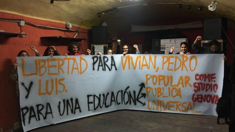 Internacional. Solidaridad a los estudiantes presos en Paraguay