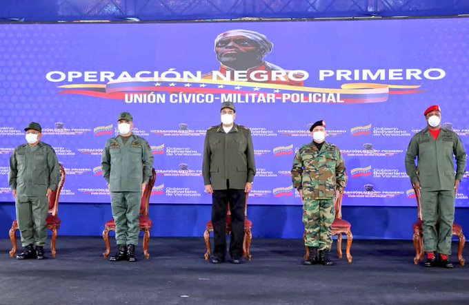 PSUV celebra victoria del pueblo con la Operación Negro Primero Aplastamiento del Enemigo