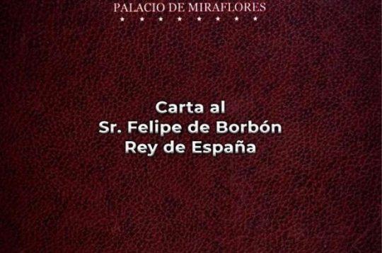 Carta de Venezuela al rey de España denunciando la celebración del genocidio el 12 de octubre
