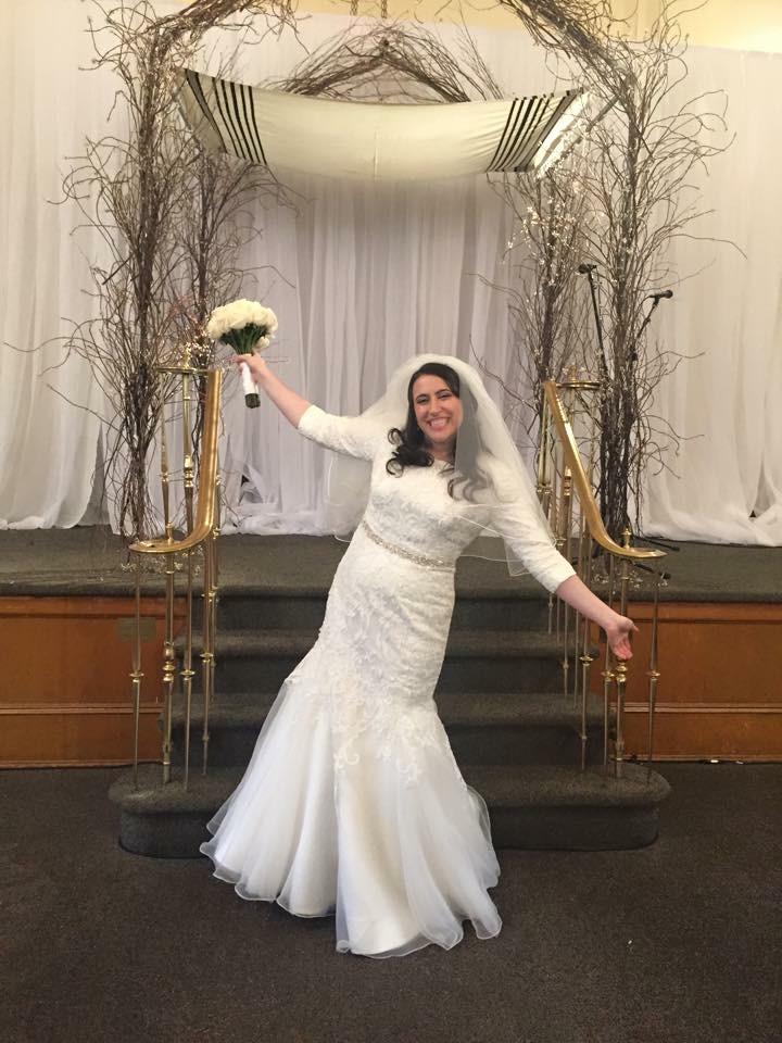 miriam k summer bride