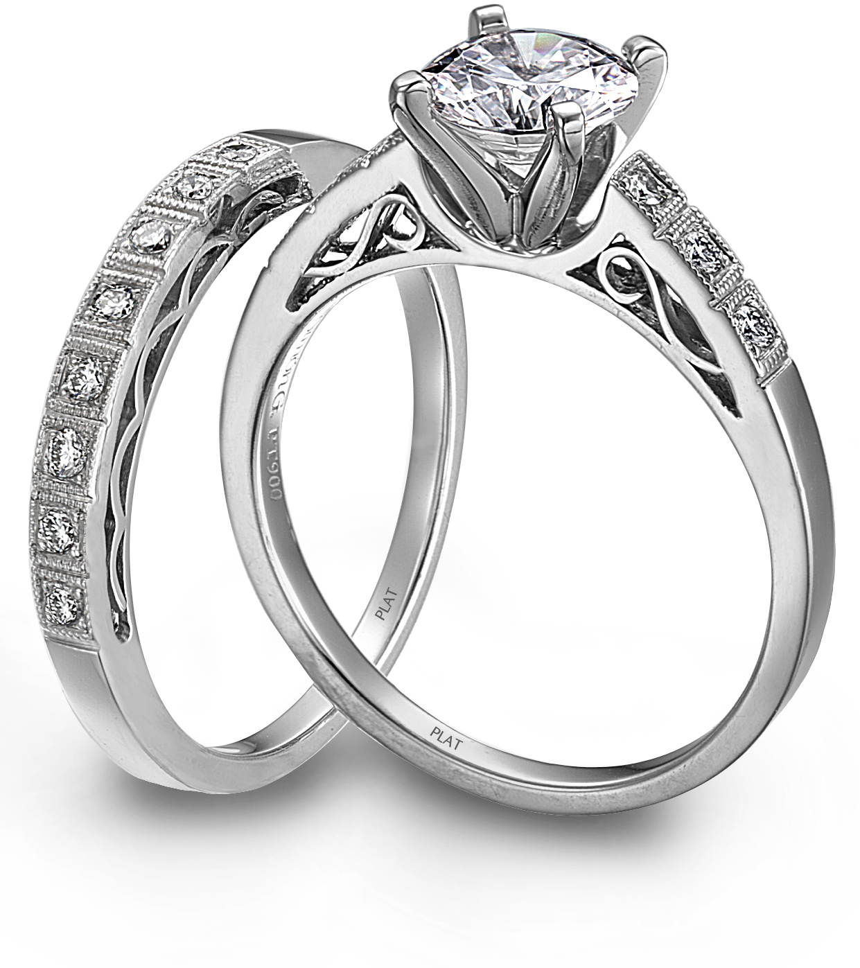 Jewelry Store Losed Womans Wedding Ring  Bridal Gowns in