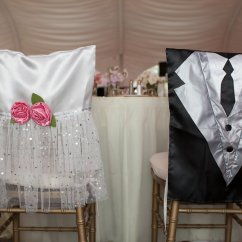 Bride And Groom Chair Covers Purple Bedroom Photo Of The Day Bridalguide
