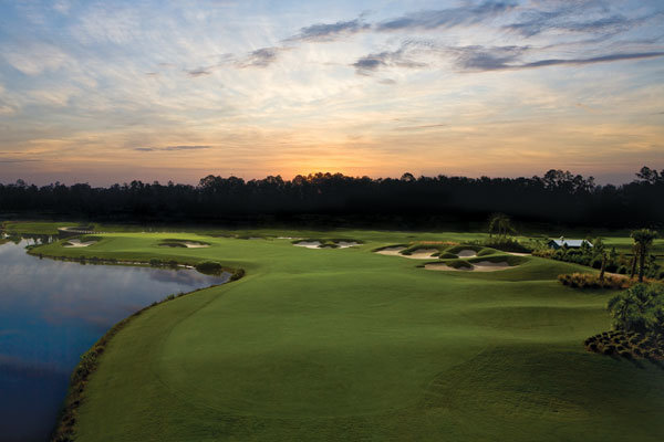 Continental Golf Course Wedding