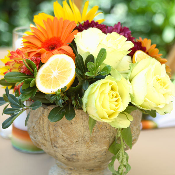 Layered Rustic Centerpiece