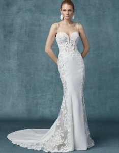 Maggie sottero sheath also wedding gowns learn the silhouettes bridalguide rh