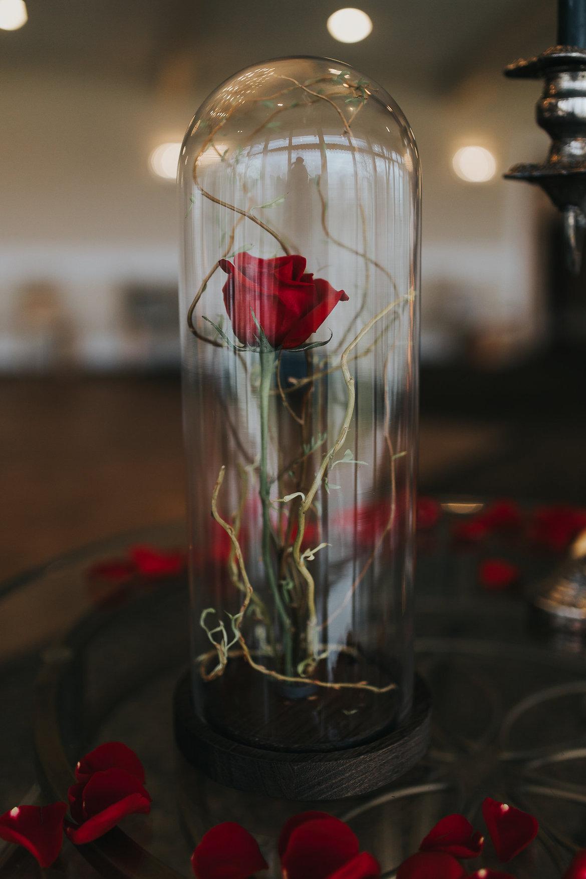 Wedding Inspiration Beauty  the Beast  BridalGuide