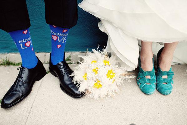 Trend We Love Fun Socks for the Groom  BridalGuide