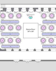 Seating chart also creative ways to seat your wedding guests bridalguide rh