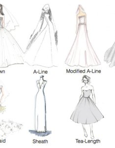 Wedding gown silhouettes also gowns learn the bridalguide rh