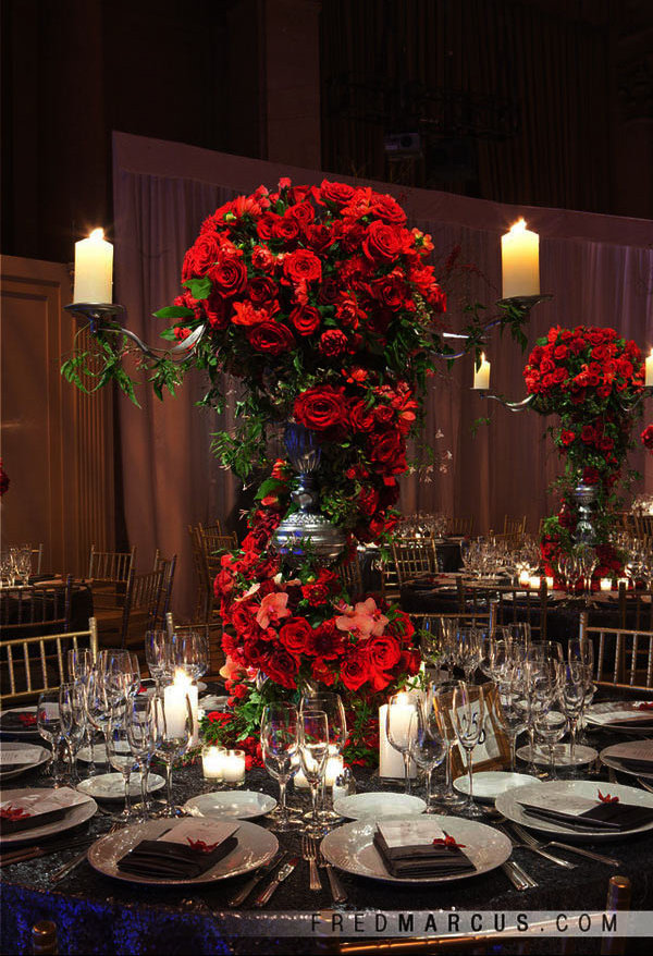 15 Unique Ways to Use Red Roses in Your Wedding  BridalGuide