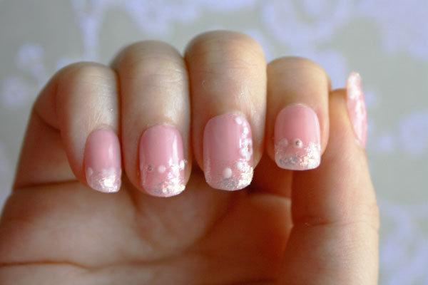 Diy Bridal Nail Art