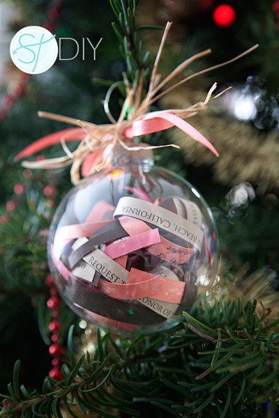 Unique Paper Ornament From Wedding Invitation Mice Lindsay