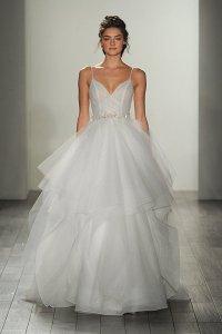 30 Pretty Wedding Gowns With Spaghetti Straps | BridalGuide