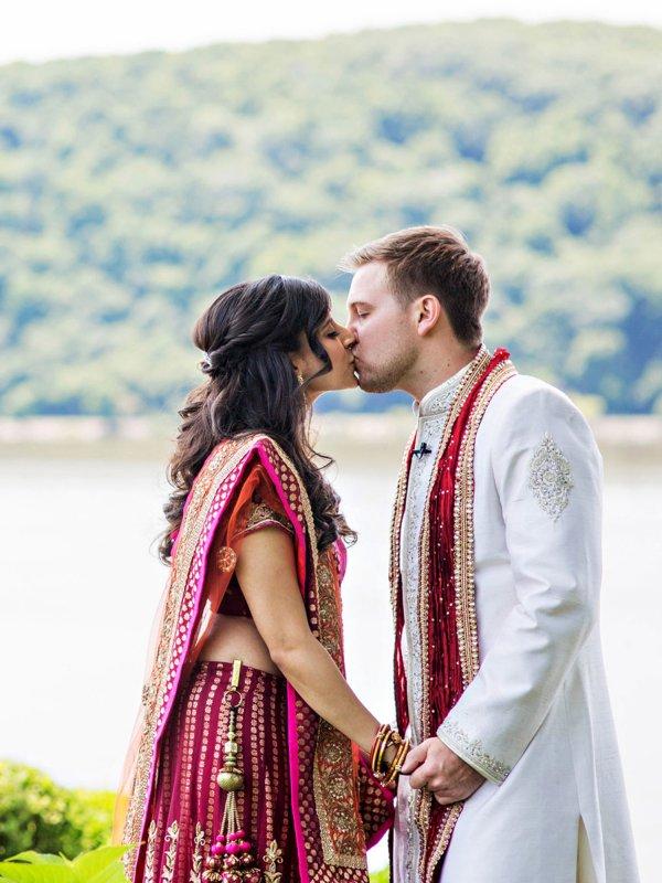Vibrant Indian Fusion Wedding  BridalGuide