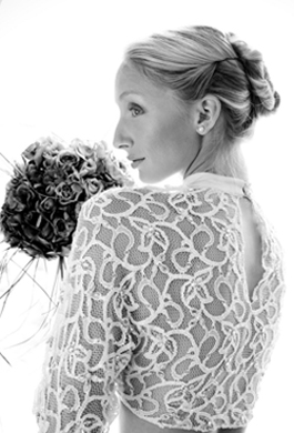 Bride Fashion Model (Black & White) 09