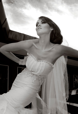 Bride Fashion Model (Black & White) 14