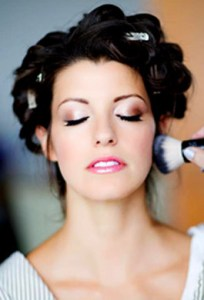 Real Brides Getting Ready