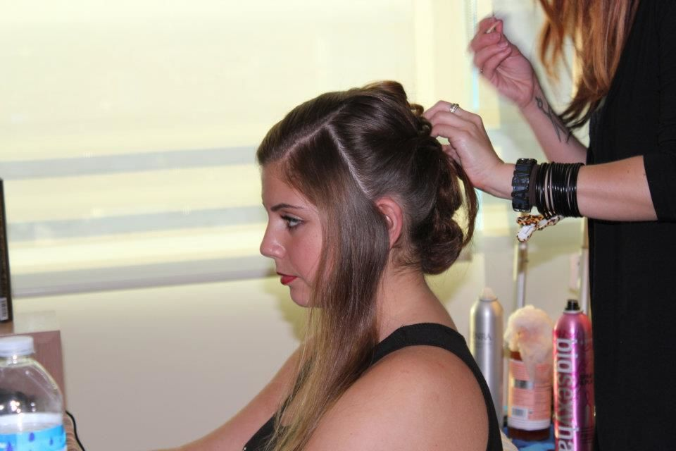 Real Brides Getting Ready - Makeup by Aradia - Bride Tabitha