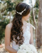wedding bridal makeup hair big