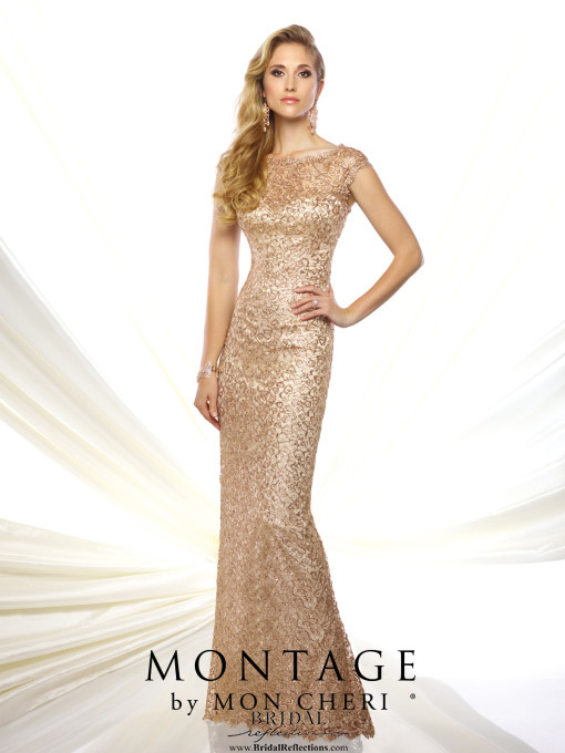 Montage by Mon Cheri Wedding Evening Dress and Gown Collection  Bridal Reflections
