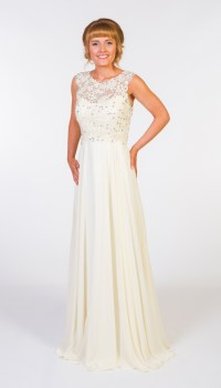 Prom Frocks PF9205 Cream Prom Gown | Bridesmaid Dresses ...